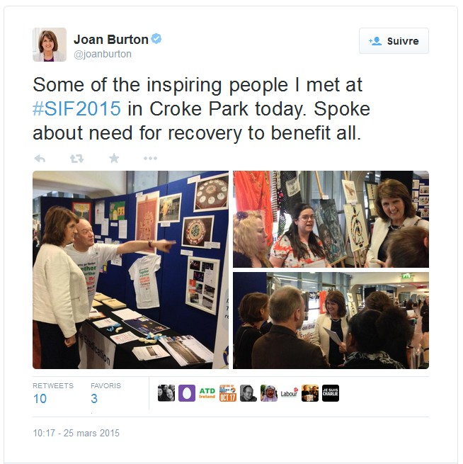 Tweet Joan Burton