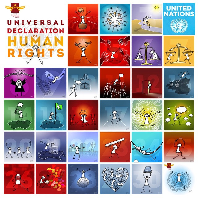 how to call un human rights from canada